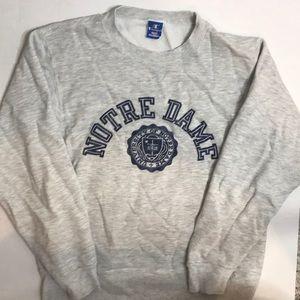 Champion Notre Dame Crewneck Unisex Sweatshirt